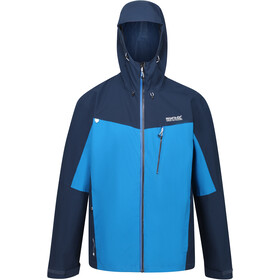 Regatta Birchdale Waterproof Shell Jacket Men, imperial blue/nightfall navy/brunswick blue